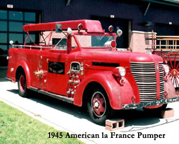 1945 American Pumper Truck