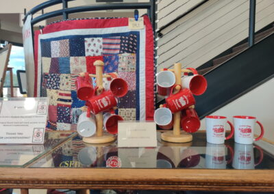 Gift shop in the Williams Fire Museum