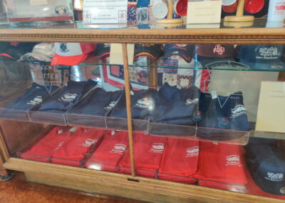 T-Shirts and hats available in the Williams Fire Museum