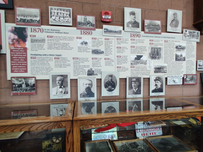 History of Firefighting in Colorado Springs
