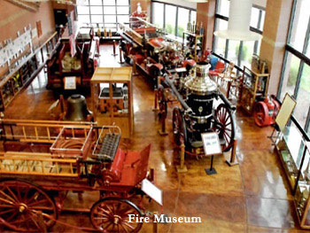 Inside the Williams Fire Museum