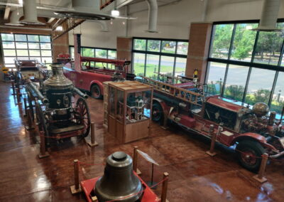 Overhead view - Lester L. Williams Fire Museum